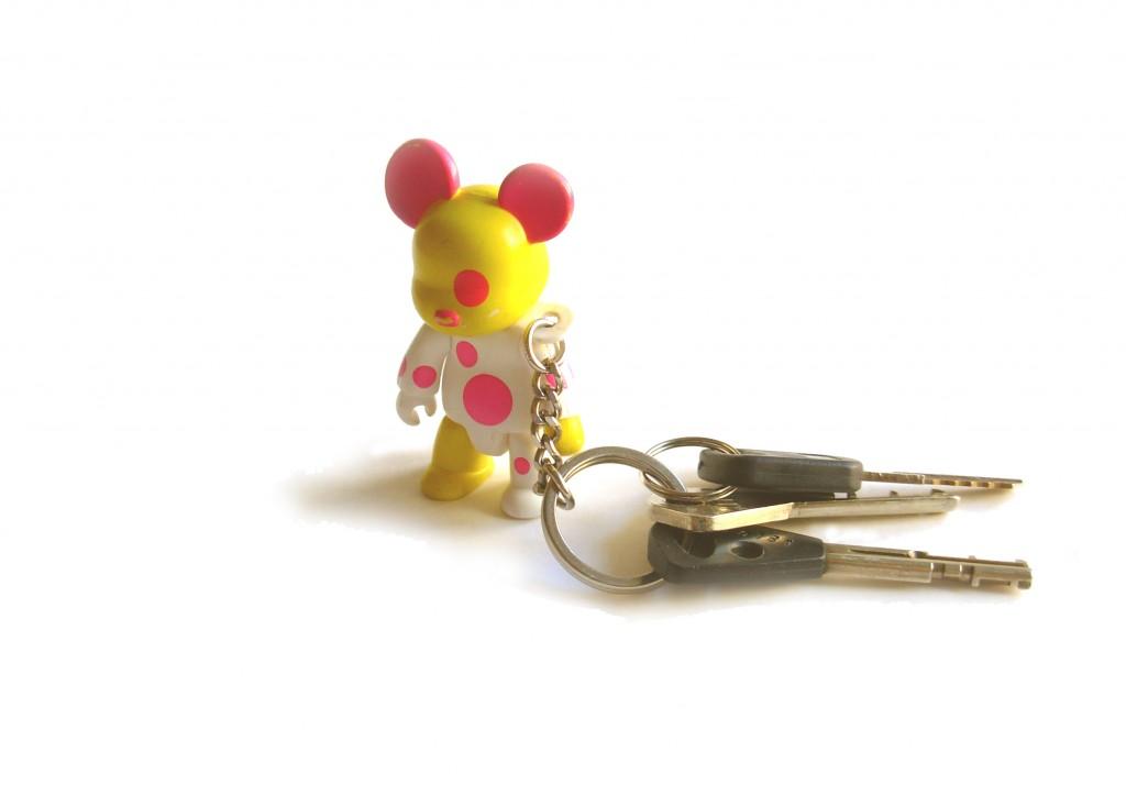 Un gros porte-clefs permet de perdre ses clefs moins facilement